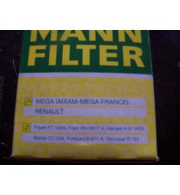MANN Ölfilter W68