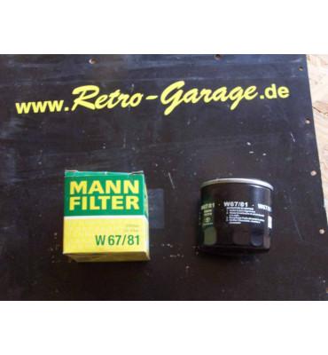 MANN Ölfilter W67/81
